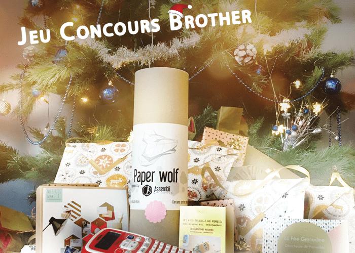 Jeu concours instagram de Noel avec Brother