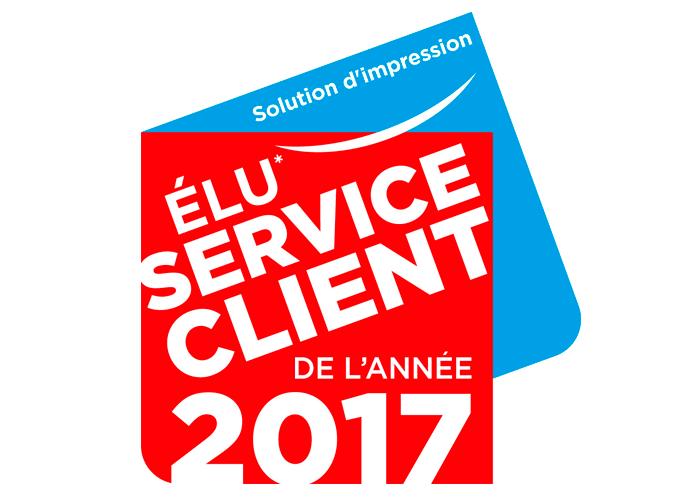 Brother élu service client de l'année 2017