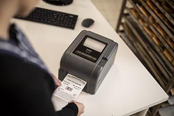 Nouvelle gamme d'imprimantes TD-4D et TD-4T de Brother