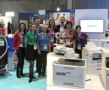 Brother présent au salon Showcase Ingram Micro 2019