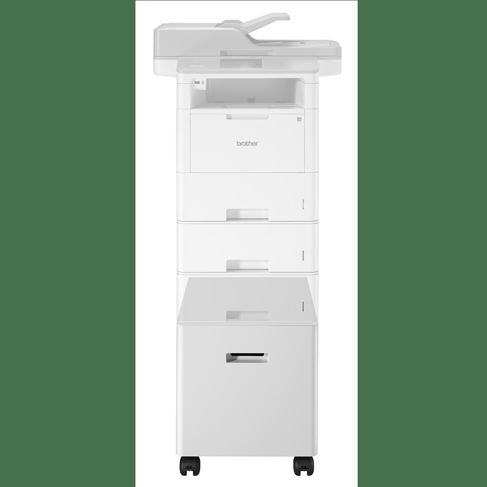 ZUNTL6000W armoire inférieure pour imprimantes laser monochrome Brother 6