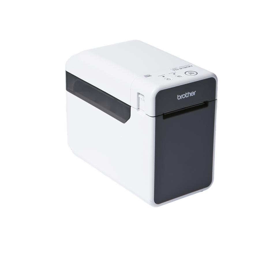 TD-2120N Imprimante d'étiquettes professionnelle 2 pouces à impression thermique pour reçus et étiquettes + réseau Ethernet