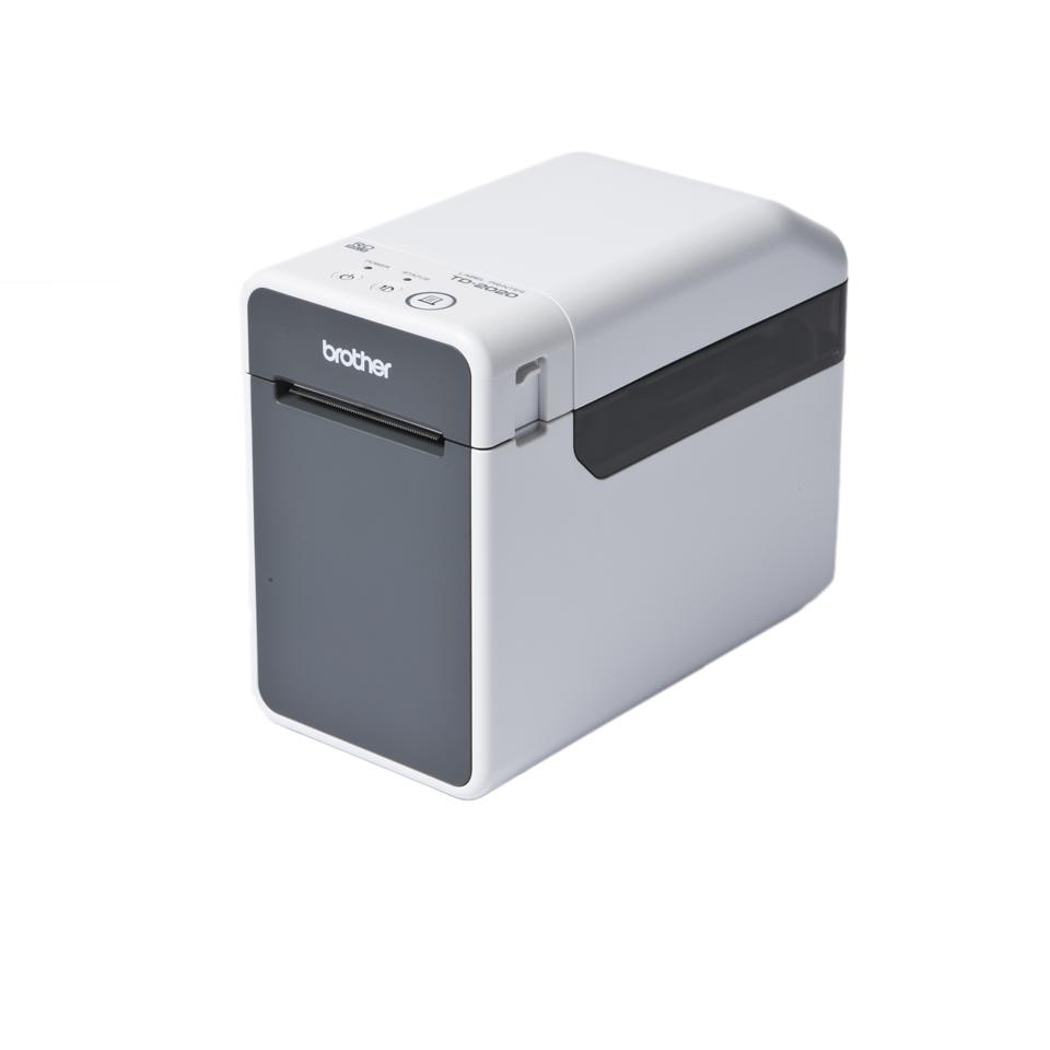 TD-2120N Imprimante d'étiquettes professionnelle 2 pouces à impression thermique pour reçus et étiquettes + réseau Ethernet 2