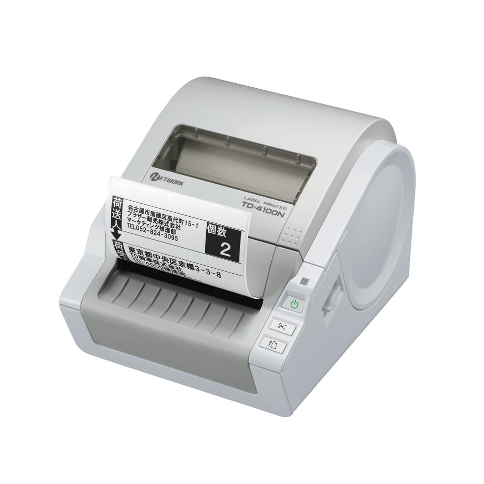TD-4100N Imprimante d'étiquettes professionnelle 4 pouces réseau 3
