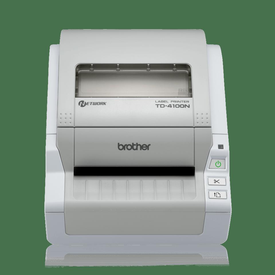 TD-4100N Imprimante d'étiquettes professionnelle 4 pouces réseau