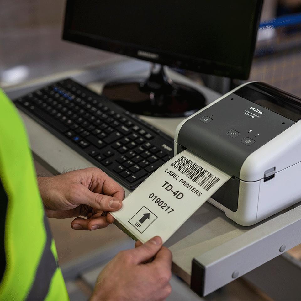 TD-4520DN - Imprimante d'étiquettes professionnelle 5