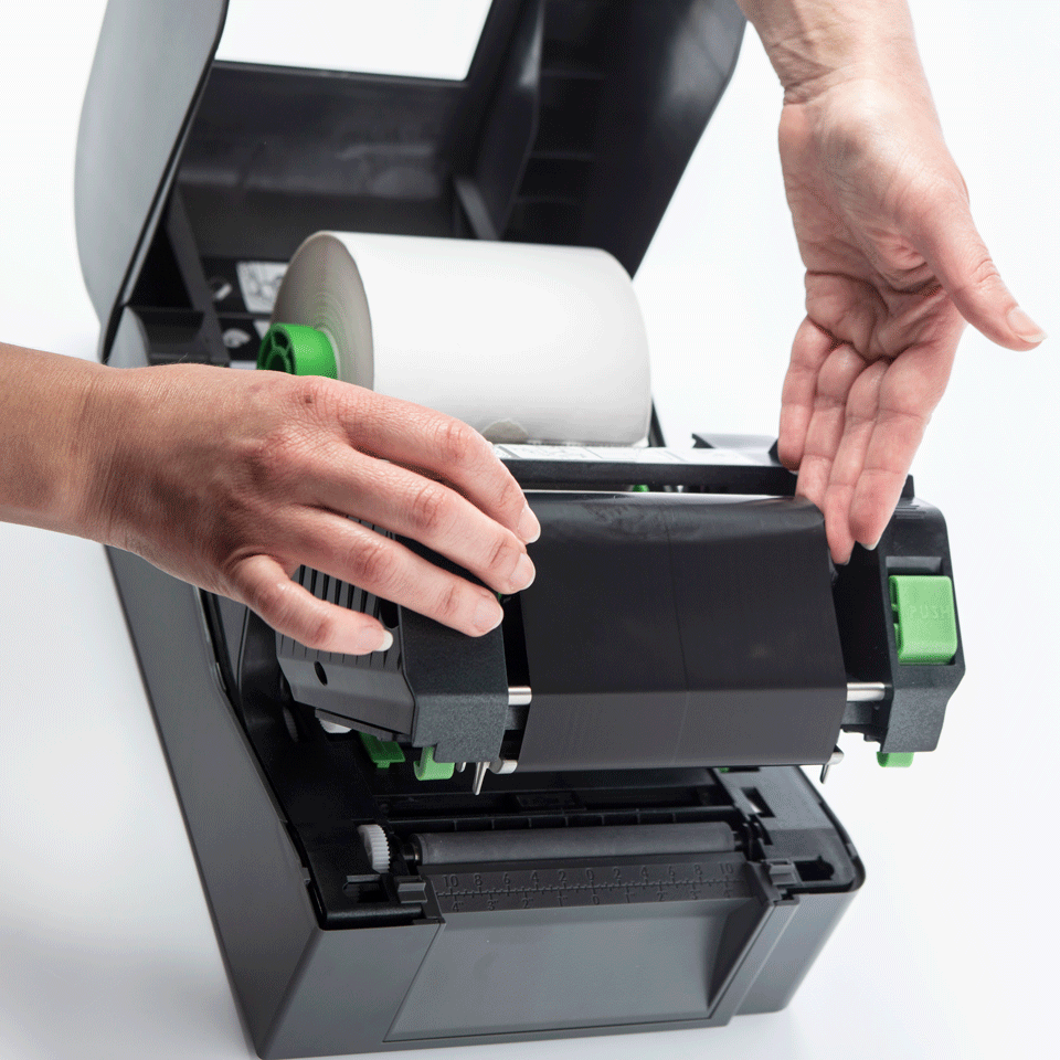TD-4520TN - Imprimante d'étiquettes à transfert thermique  5