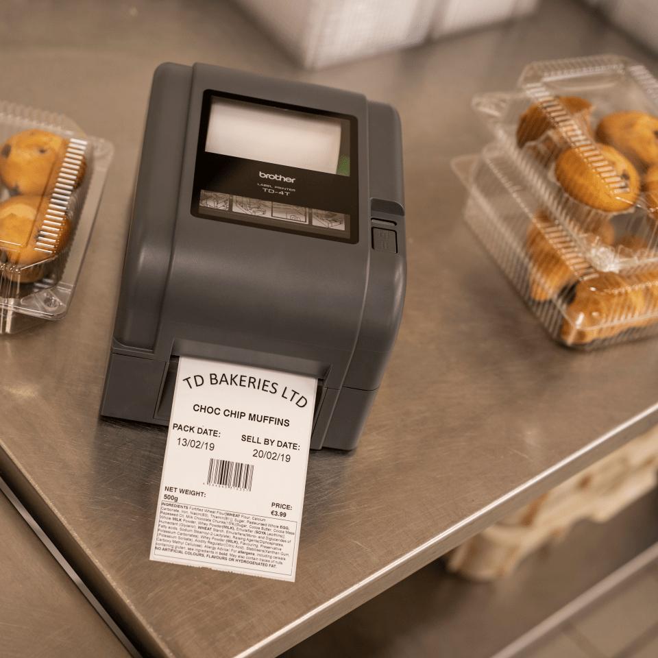 TD-4520TN - Imprimante d'étiquettes à transfert thermique  8
