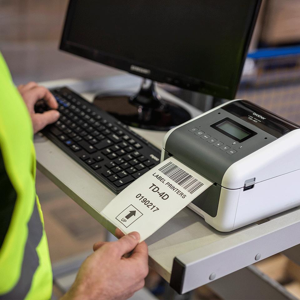 TD-4550DNWB Imprimante d'étiquettes professionnelle bluetooth 7