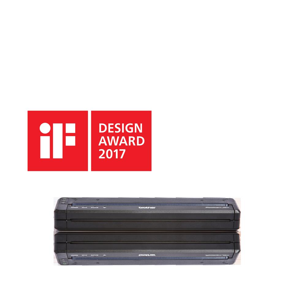 PJ-773 Imprimante mobile A4 thermique + WiFi 2