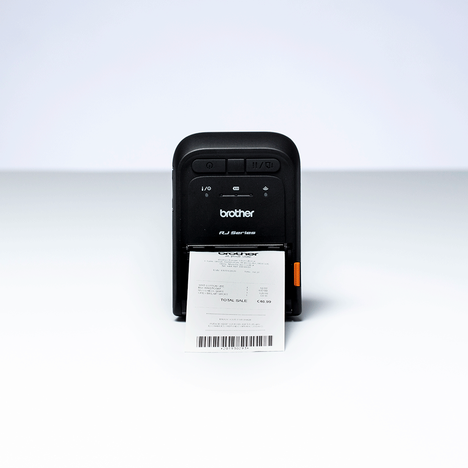 RJ-2055WB Imprimante mobile de reçus Brother 5