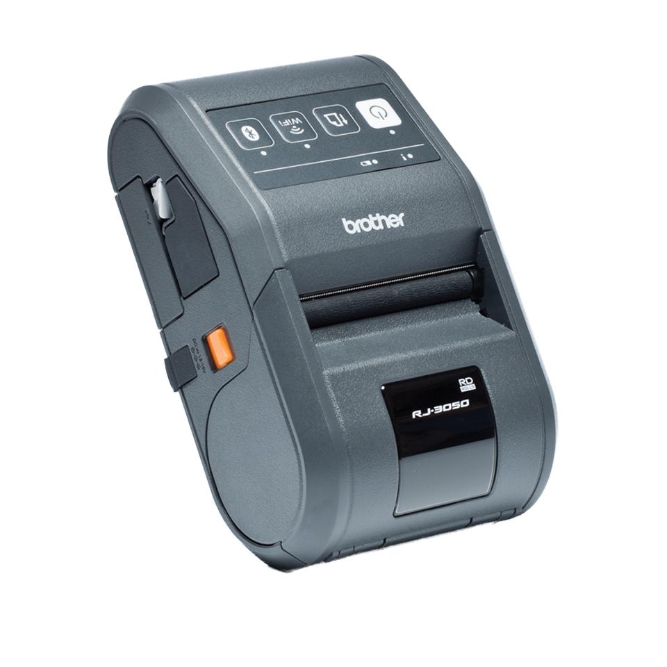 RJ-3050 Imprimante mobile 3 pouces pour étiquettes et tickets + Bluetooth + USB + RS232C