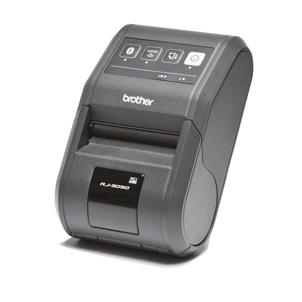 RJ-3050 Imprimante mobile 3 pouces pour étiquettes et tickets + Bluetooth + USB + RS232C 2