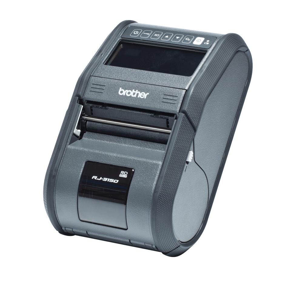 RJ-3150 Imprimante mobile 3 pouces à impression thermique + USB + Bluetooth + RS323C