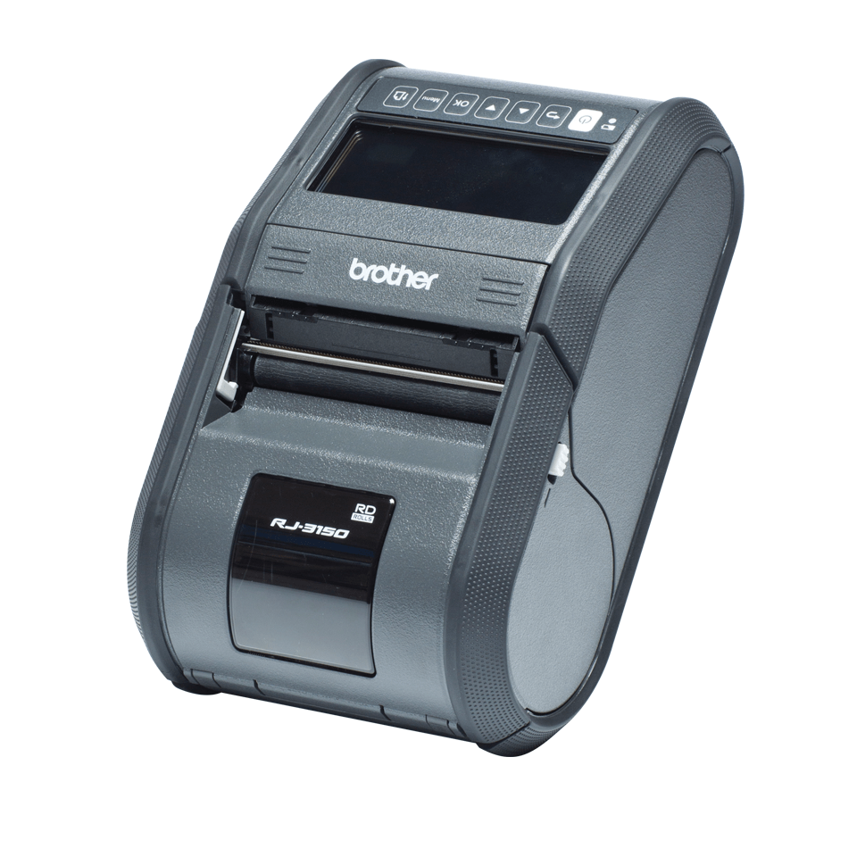 RJ-3150 Imprimante mobile 2 pouces à impression thermique + USB + Bluetooth + RS323C