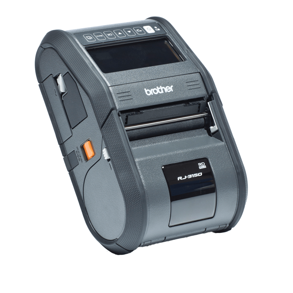 RJ-3150 Imprimante mobile 3 pouces à impression thermique + USB + Bluetooth + RS323C 2