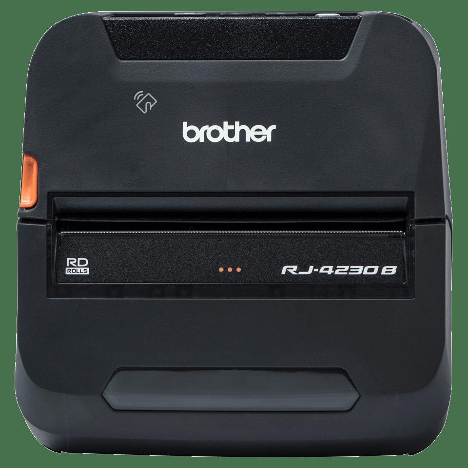 RJ-4230B Imprimante mobile durcie 4 pouces pour reçus et étiquettes + USB + Bluetooth