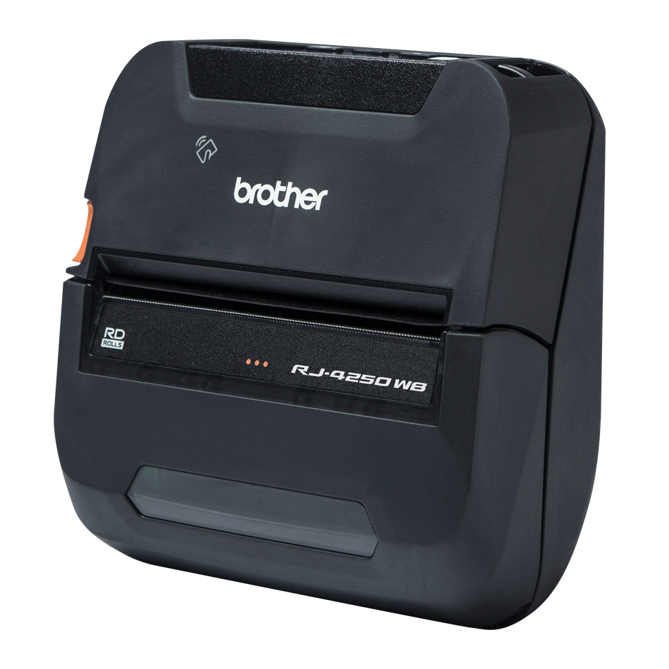 RJ-4250WB Imprimante mobile durcie 4 pouces pour reçus et étiquettes + Wi-Fi + USB + Bluetooth 2