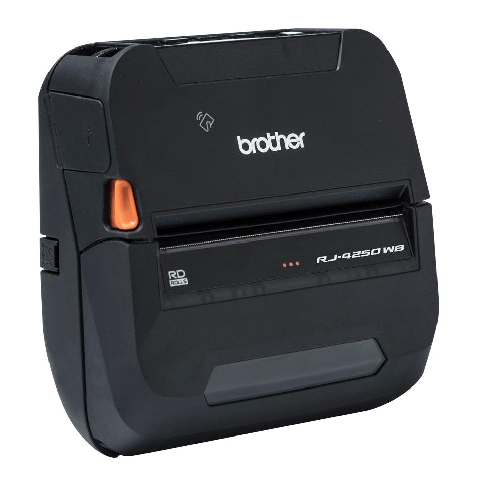 RJ-4250WB Imprimante mobile durcie 4 pouces pour reçus et étiquettes + Wi-Fi + USB + Bluetooth 3
