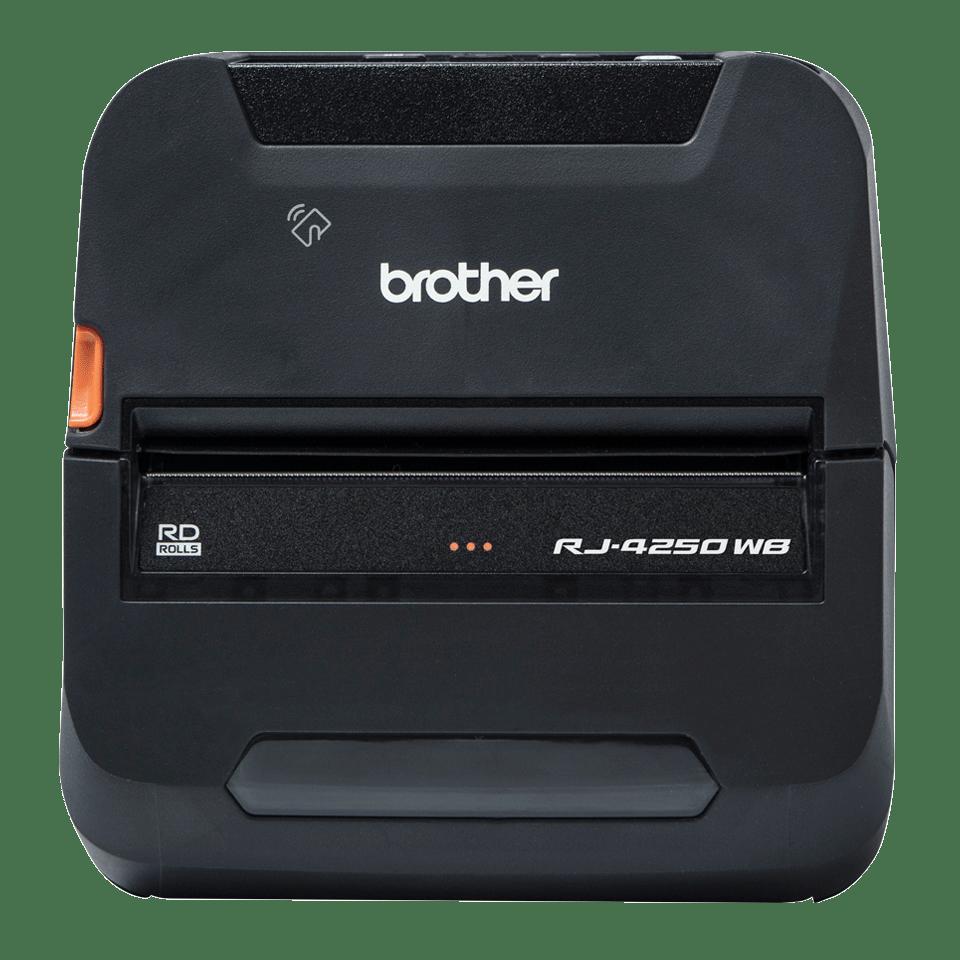 RJ-4250WB Imprimante mobile durcie 4 pouces pour reçus et étiquettes + Wi-Fi + USB + Bluetooth
