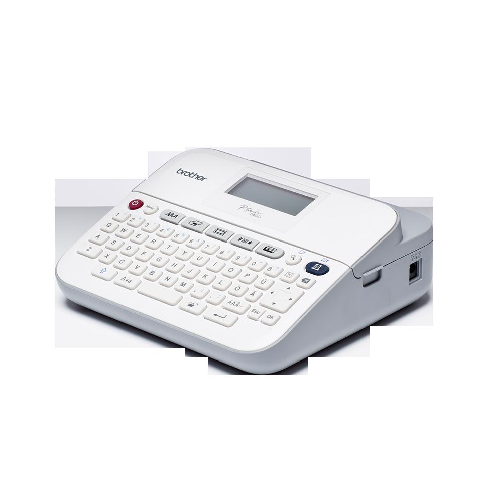 PT-D400VP étiqueteuse profesionnelle 2
