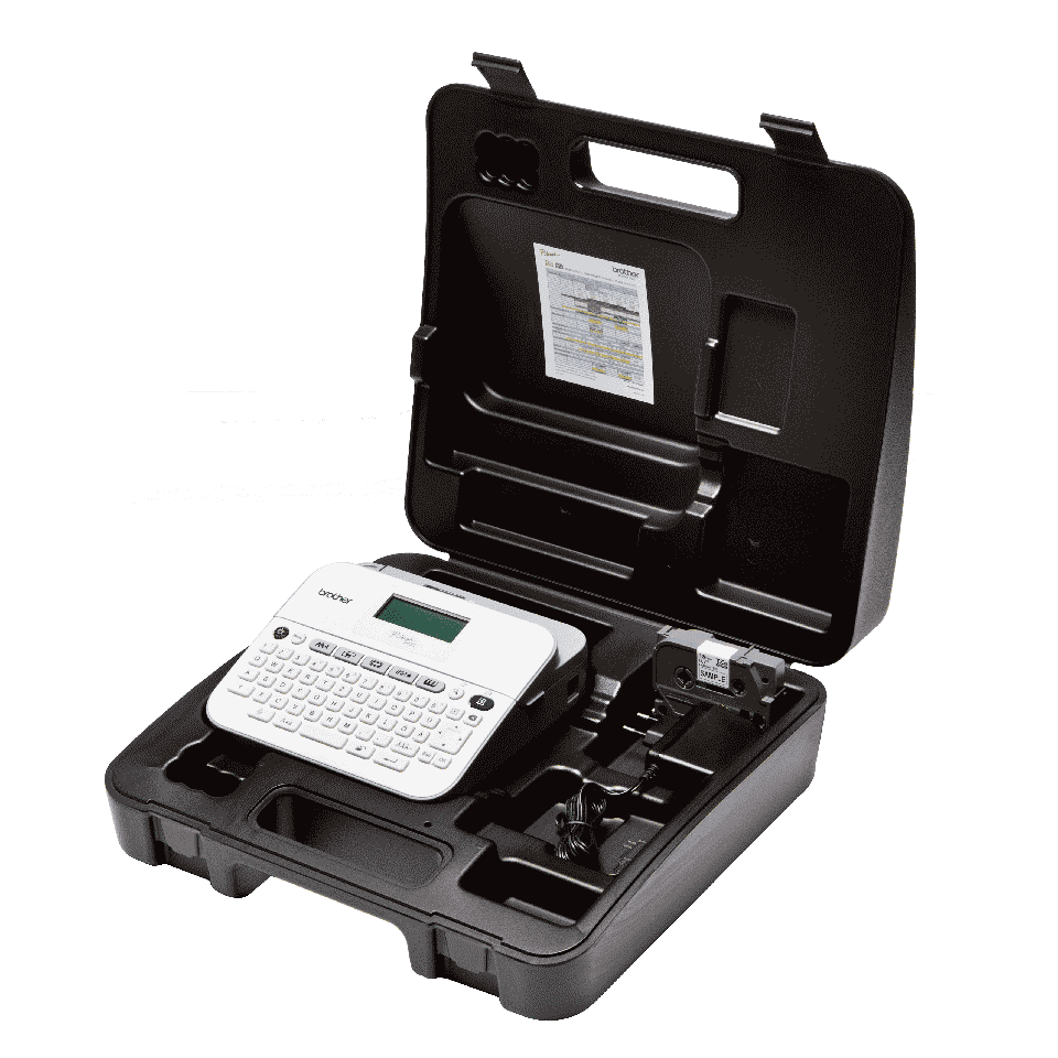 PT-D400VP étiqueteuse professionnelle 6