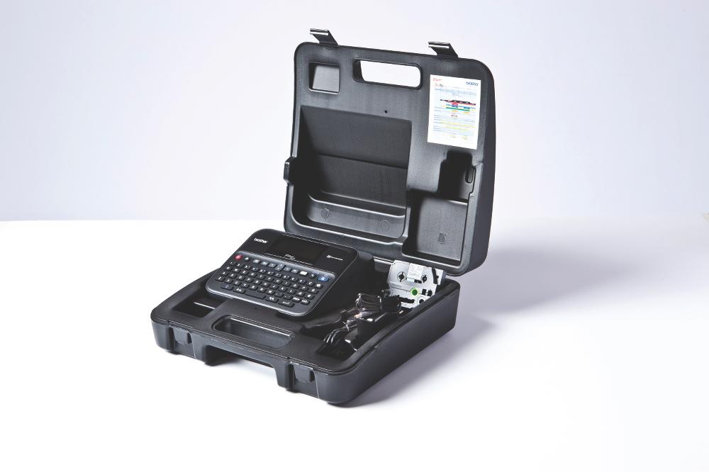 PT-D600VP étiqueteuse professionnelle + mallette de transport 7