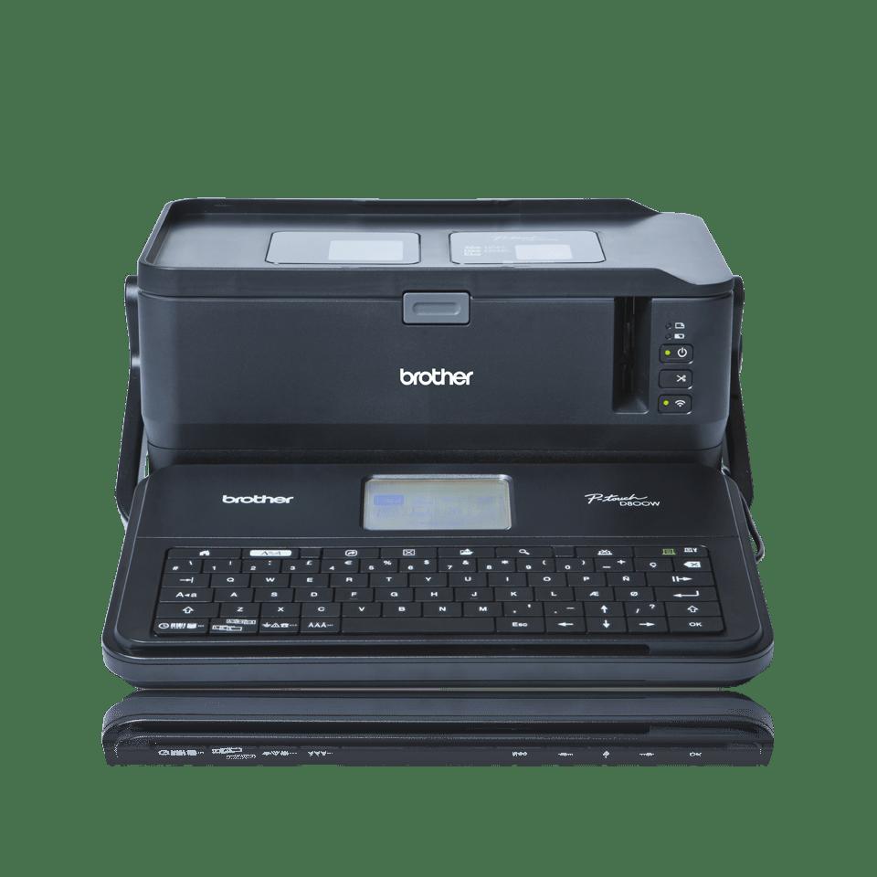 PT-D800W imprimante d'étiquettes professionnelle 5