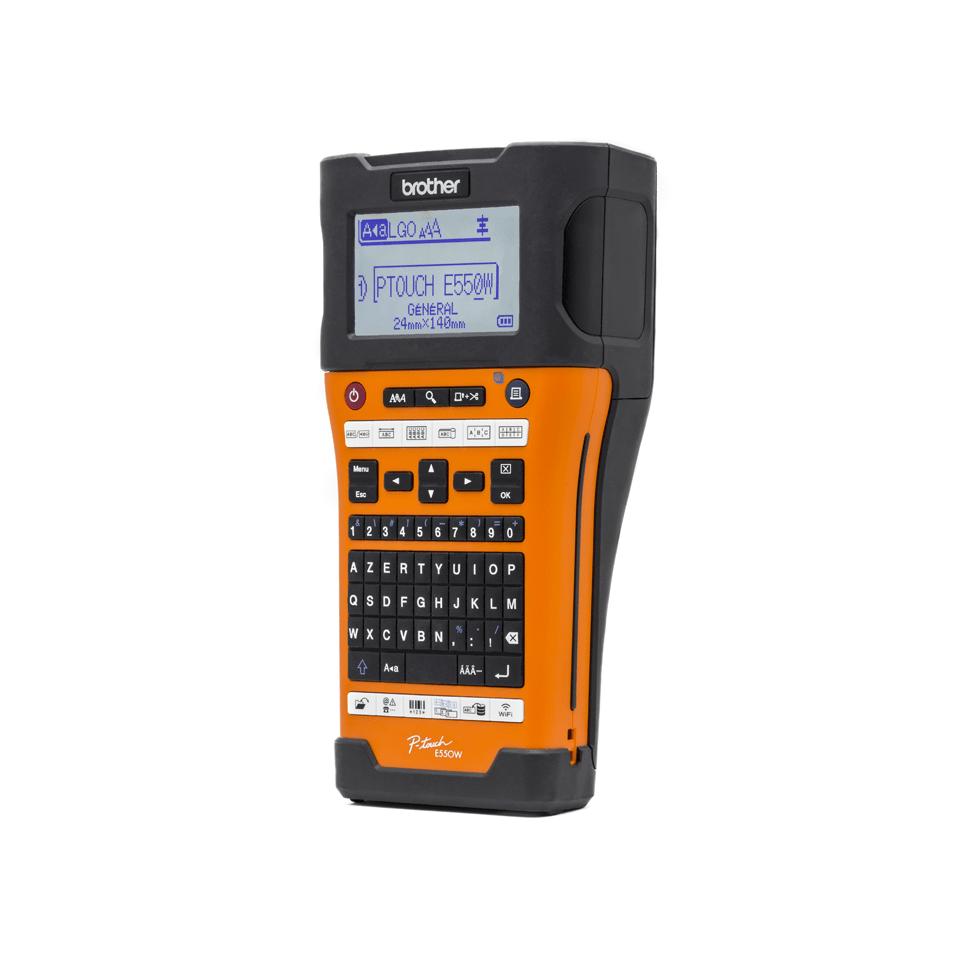 PT-E550WVP étiqueteuse industrielle  2