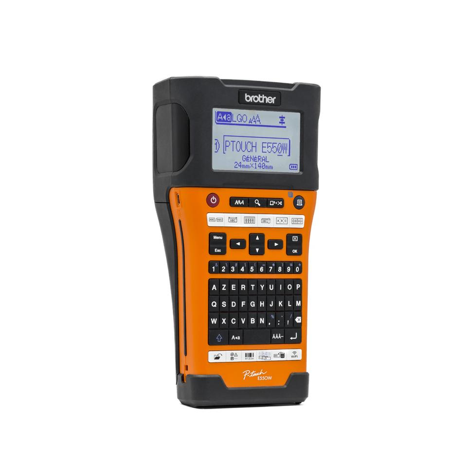 PT-E550WVP étiqueteuse industrielle  3