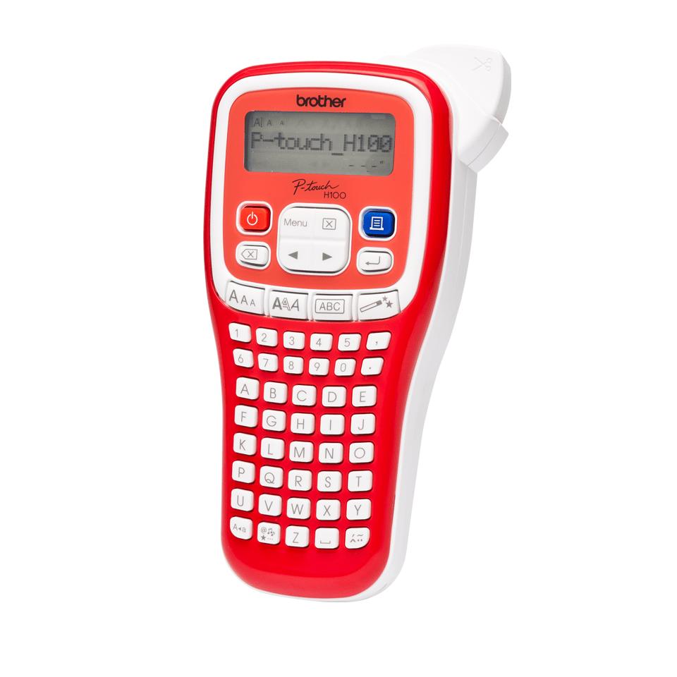 PT-H100R étiqueteuse P-touch rouge 2