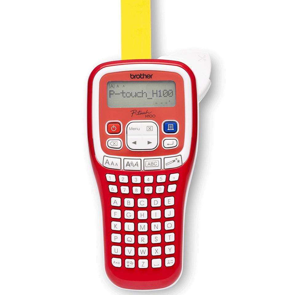 PT-H100R étiqueteuse P-touch rouge 3