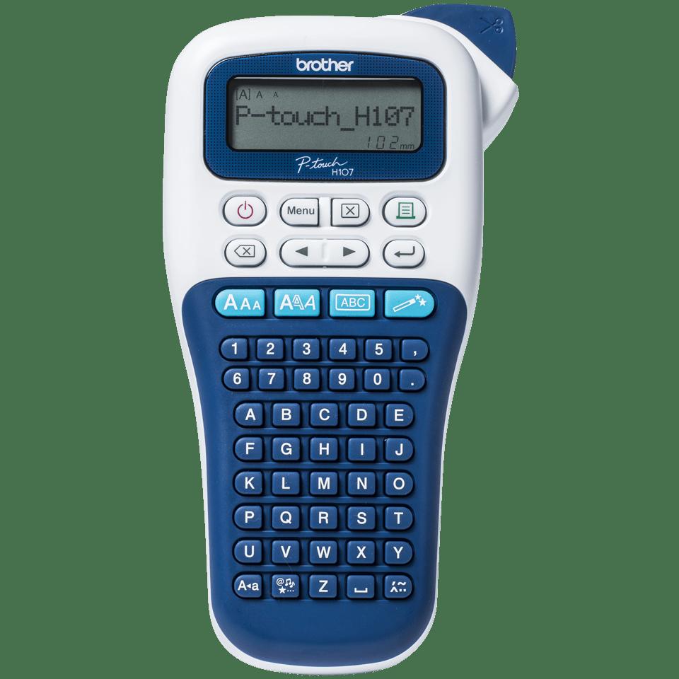 PT-H107B Bleue foncé série PT-H100 étiqueteuse Brother