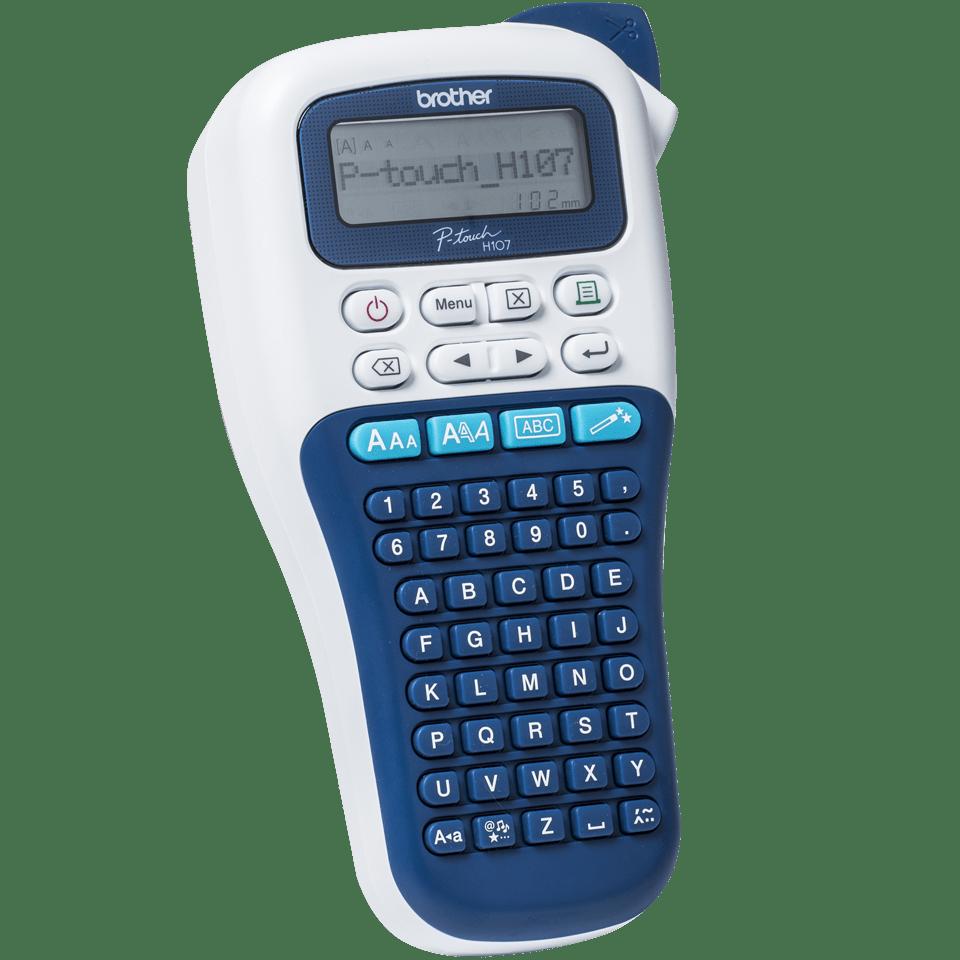 PT-H107B étiqueteuse P-touch bleue foncée 3