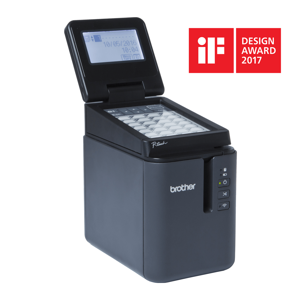 PT-P950NW imprimante d'étiquettes professionnelle 4