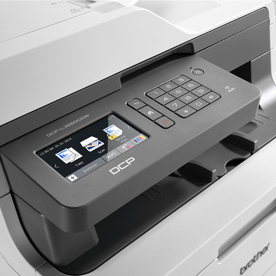 DCP-L3550CDW Imprimante multifonction laser couleur 4