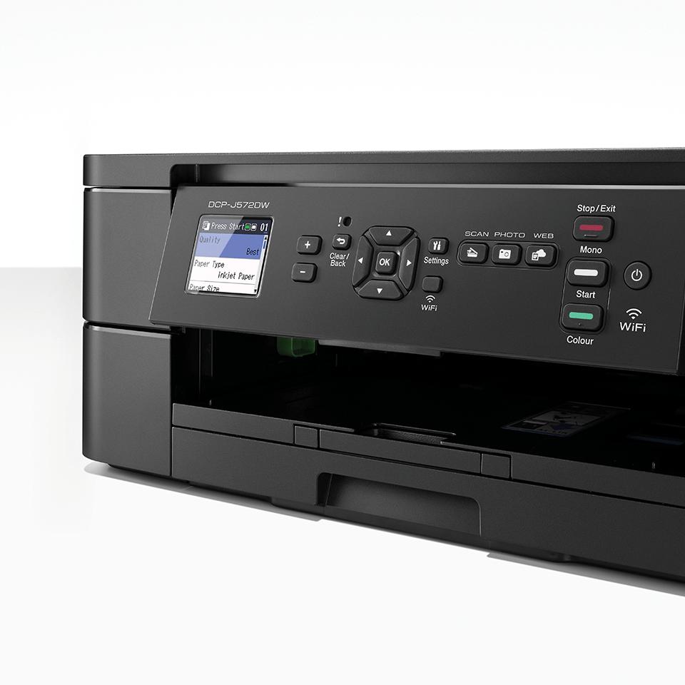 Imprimante jet d'encre couleur 3-en-1 sans fil DCP-J572DW 5