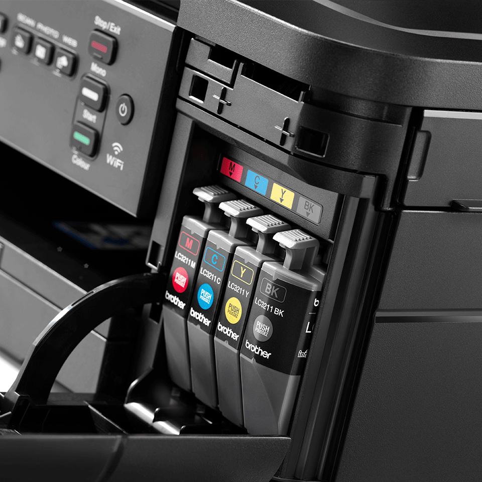 Imprimante jet d'encre couleur 3-en-1 sans fil DCP-J572DW 6