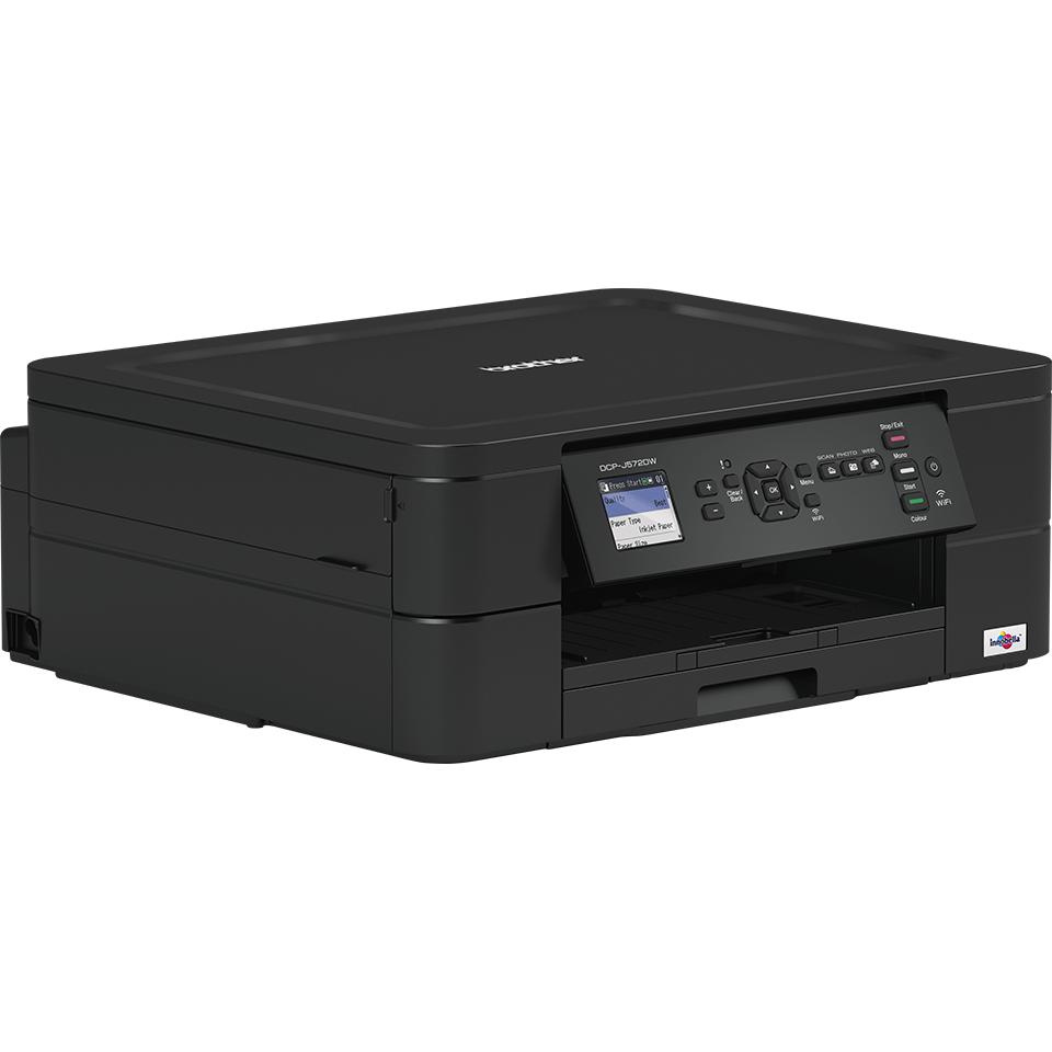 Imprimante jet d'encre couleur 3-en-1 sans fil DCP-J572DW