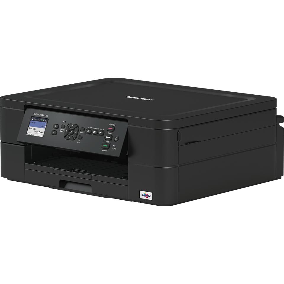 Imprimante jet d'encre couleur 3-en-1 sans fil DCP-J572DW 2