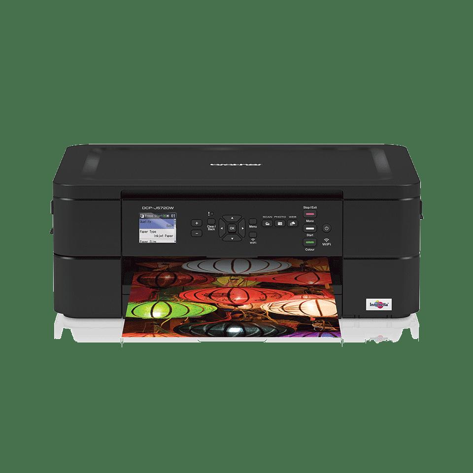 Imprimante jet d'encre couleur 3-en-1 sans fil DCP-J572DW 7