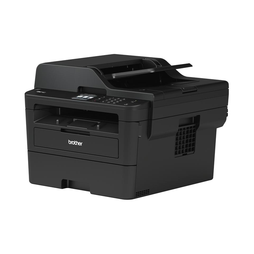 MFC-L2730DW Multifonction laser monochrome 4-en-1 compact, réseau et WiFi