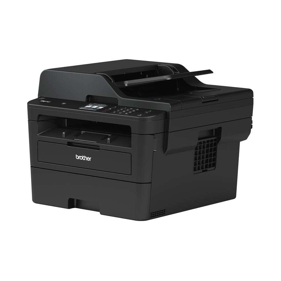 MFC-L2750DW Multifonction laser monochrome 4-en-1 compact, réseau, WiFi et NFC