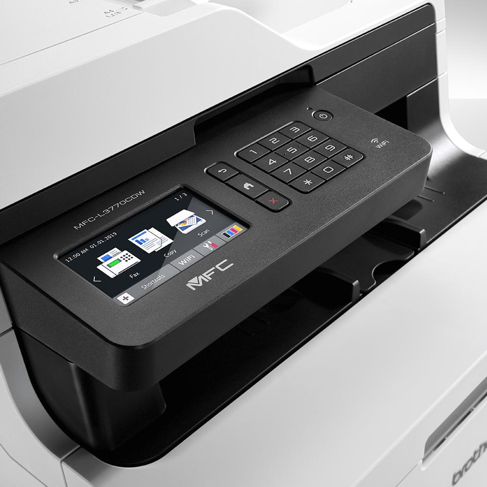MFC-L3770CDW Imprimante multifonction laser couleur 4
