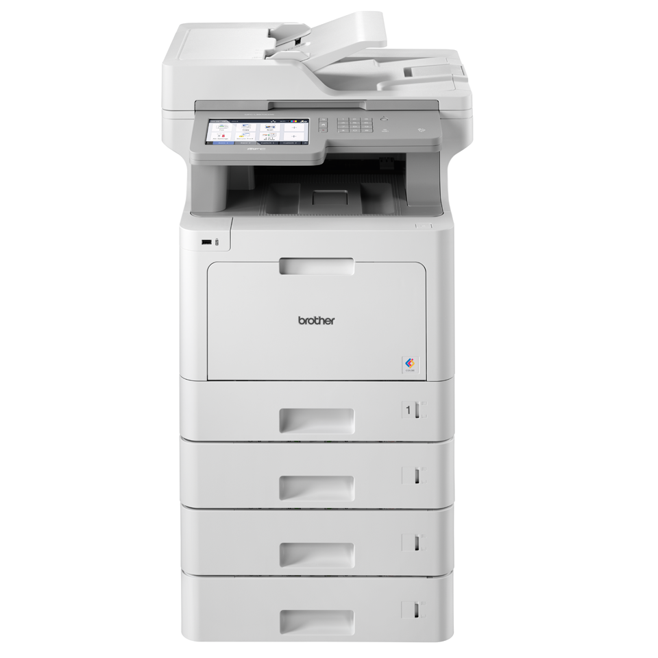 MFC-L9570CDW with tower tray