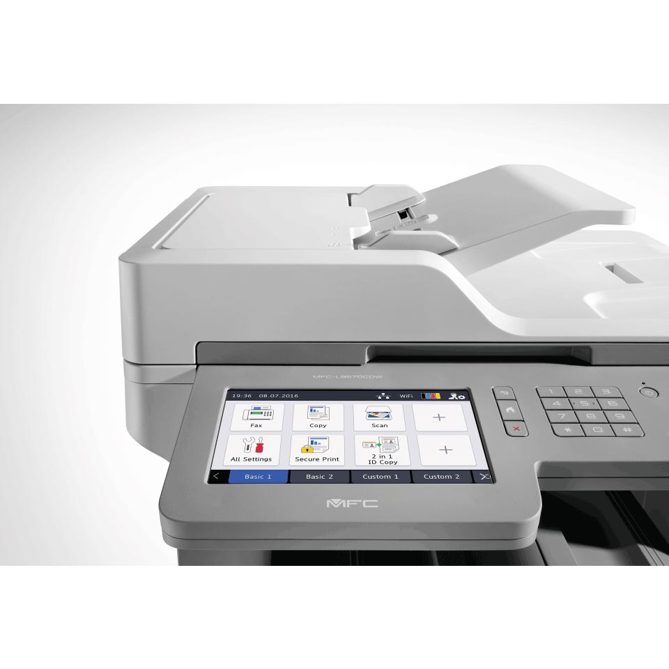 MFC-L9570CDW Multifonction Laser Couleur WiFi + NFC + écran tactile 7