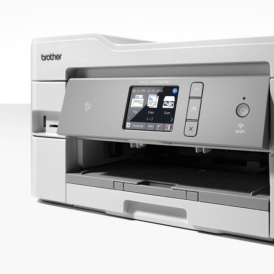 MFC-J1300DW Imprimante jet d'encre couleur multifonction4-en-1 - All In Box 6
