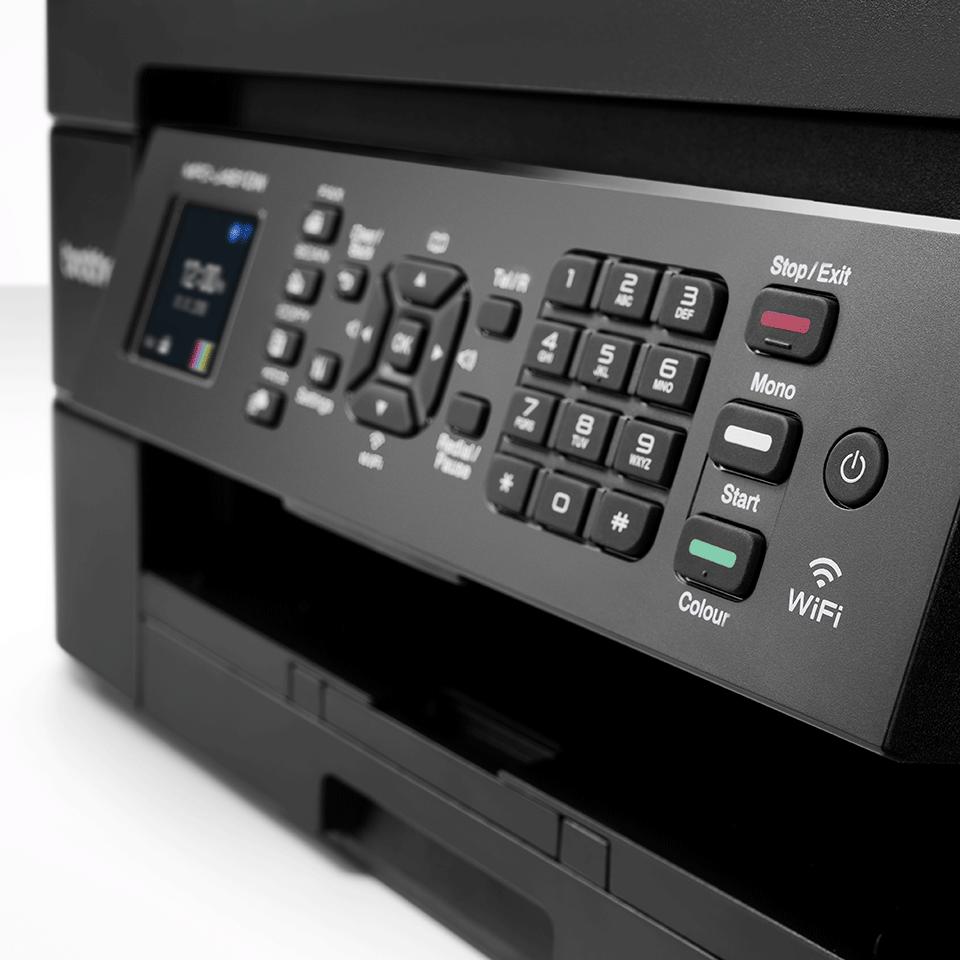 Imprimante jet d'encre couleur 4-en-1 sans fil MFC-J491DW 5