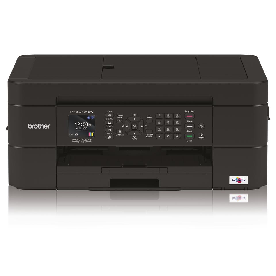 Imprimante jet d'encre couleur 4-en-1 sans fil MFC-J491DW 7