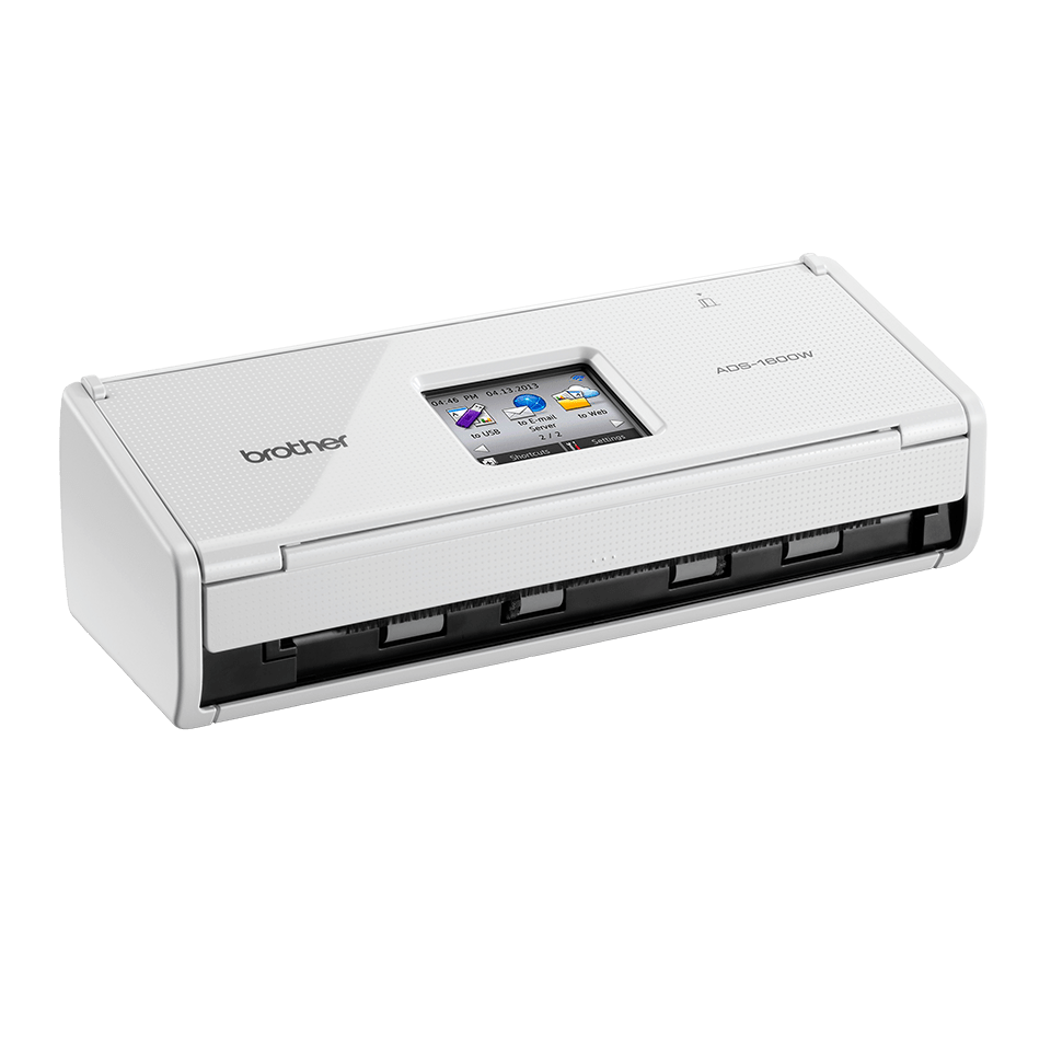 Scanner sans fil compact ADS-1600W de Brother